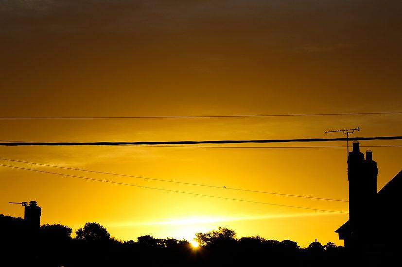Suburben Sunset