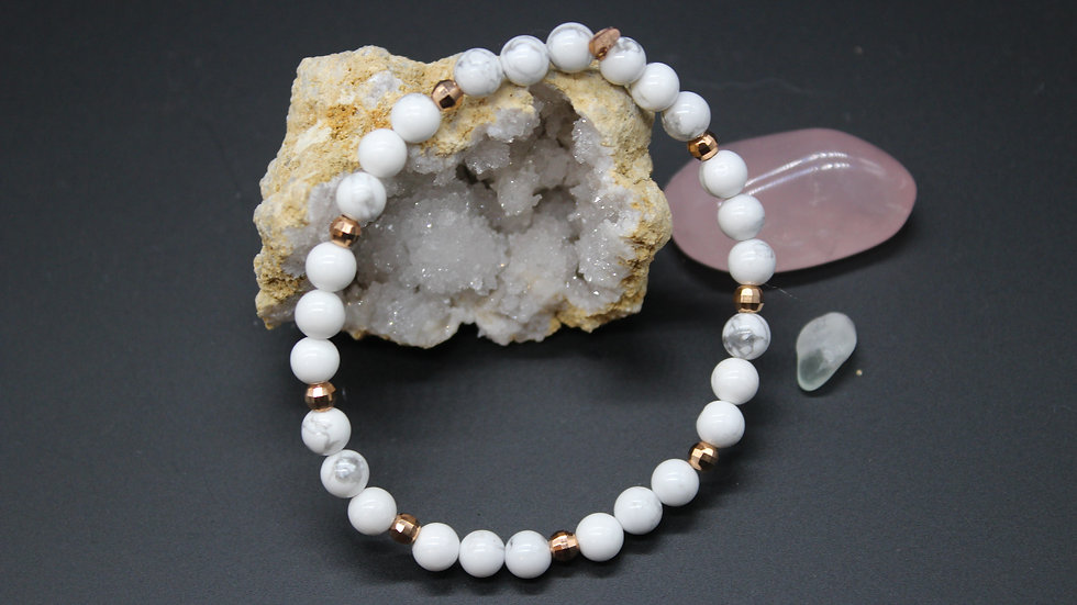 Calming Crystal Energy Bracelet