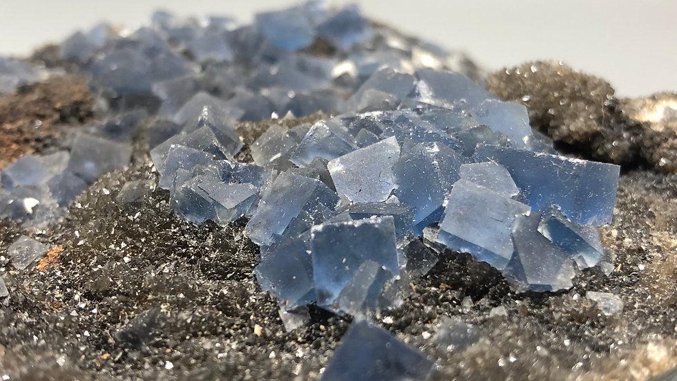 Colour Change Blue Fluorite Specimen