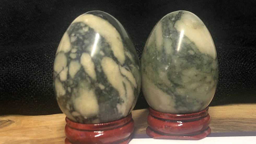 Flower Jade Egg