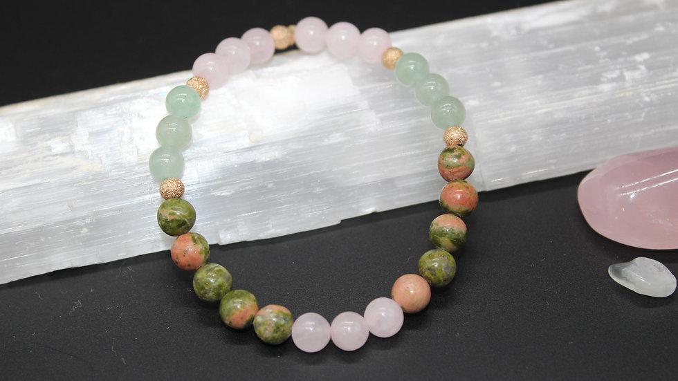 Vision & Manifestation Crystal Energy Bracelet