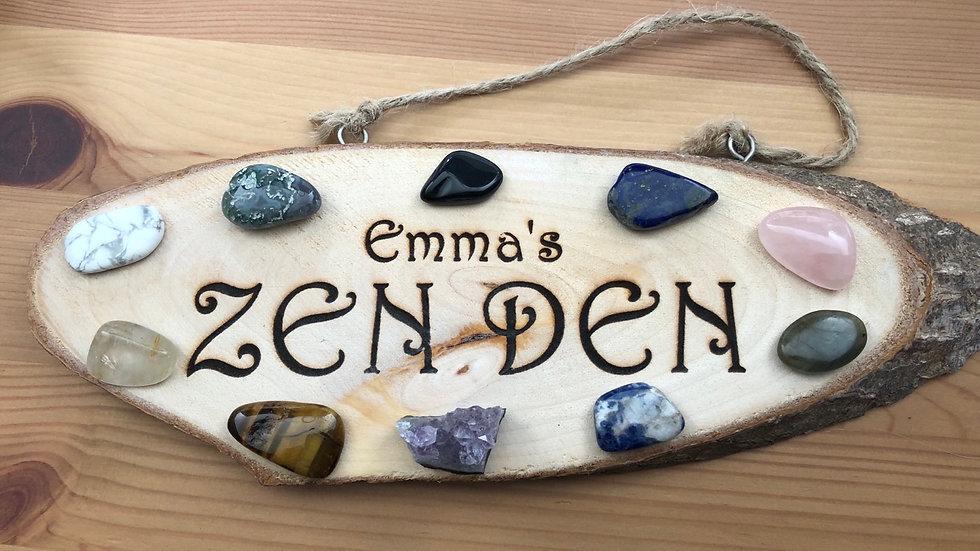 Personalised Zen Den Sign