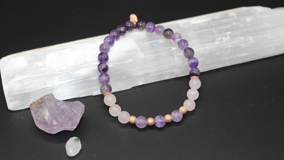 Love & Healing Crystal Energy Bracelet