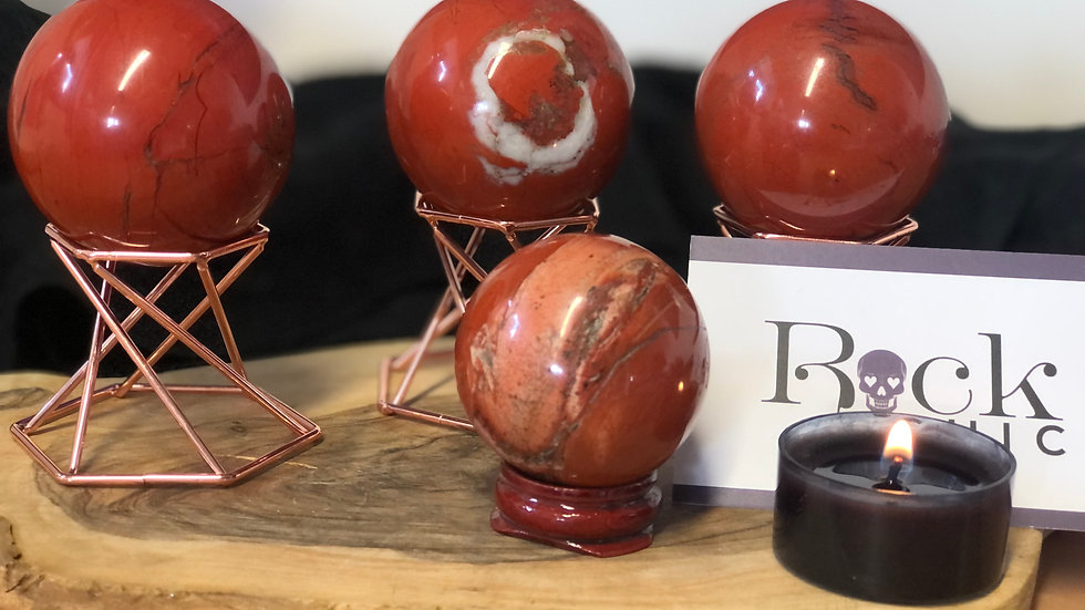 Red Jasper Sphere