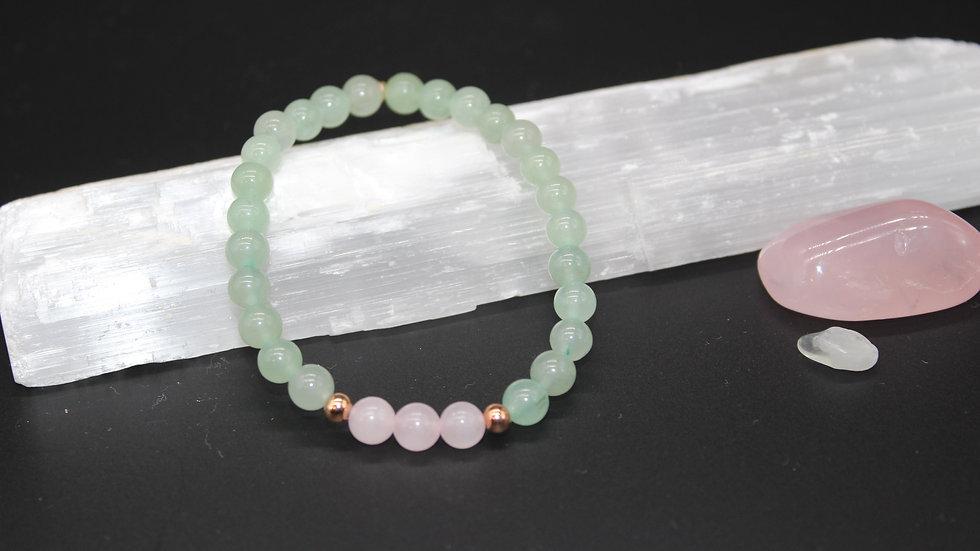 Love & Abundance Crystal Energy Bracelet