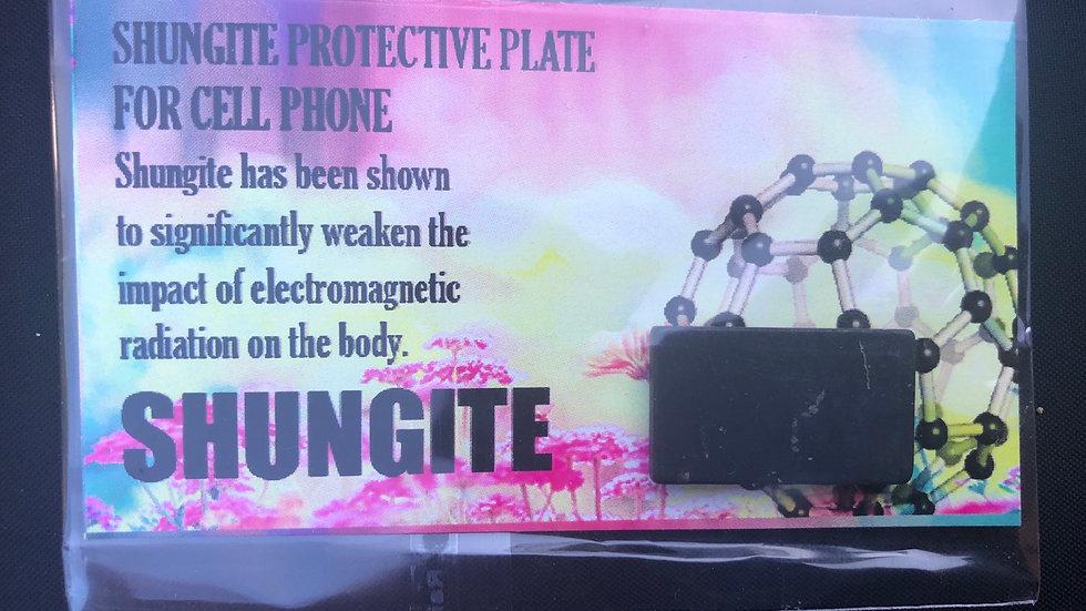 Shungite Protective Phone Plate