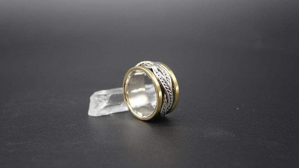 Sterling Silver Meditation Ring