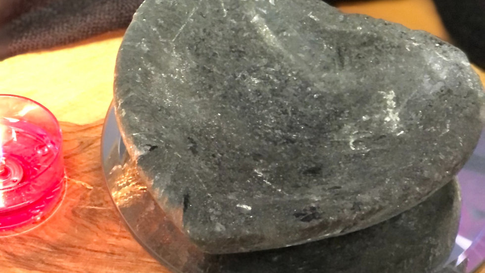 Black Tourmaline Heart Bowl