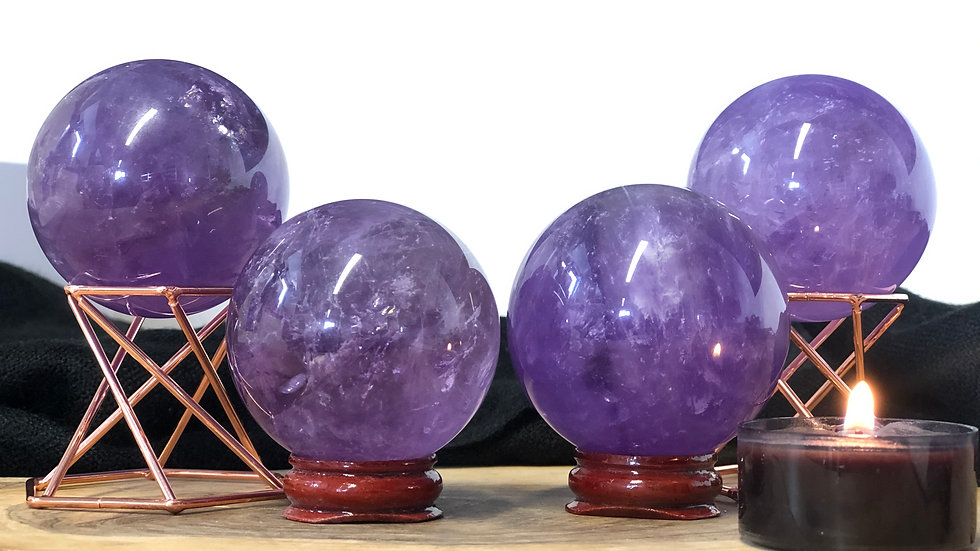 Amethyst Sphere (High Quality)