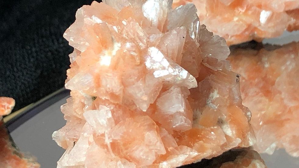 Orange Aragonite Sputnik Specimen