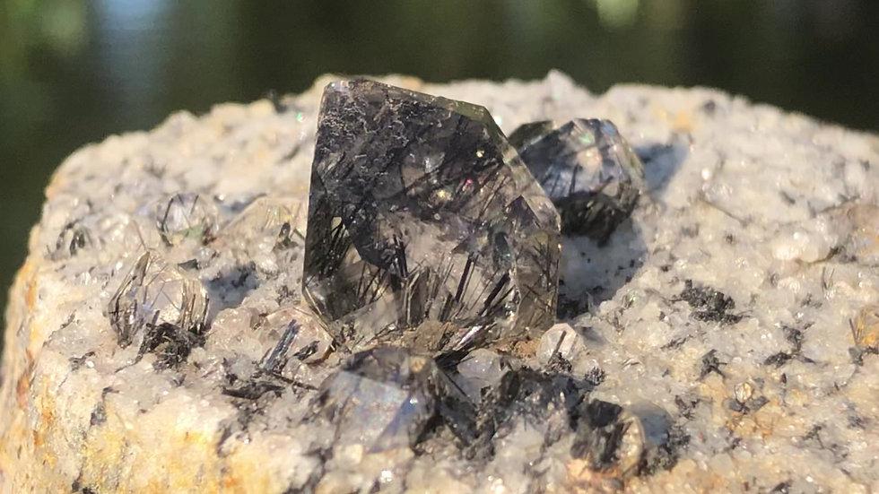 Riebeckite Quartz Specimen