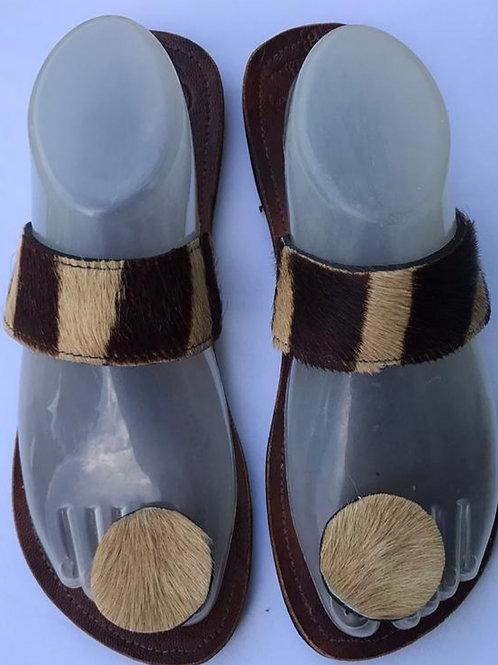 Dehelia - Hair on Hide Sandals