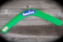 Plastikbumerang Zweiflügler ungeeignet