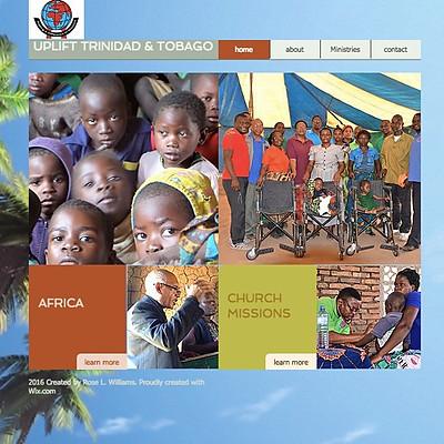 Uplift International Trinidad & Tobago Website
