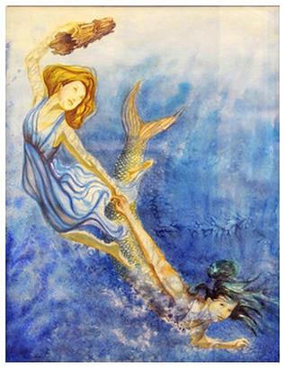 Mermaid Pulling me Deeper