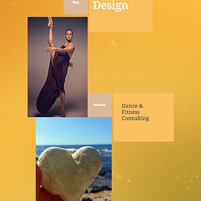 Photographer/Dancer Web Design