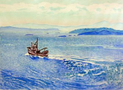 Galiano Fishing Boat