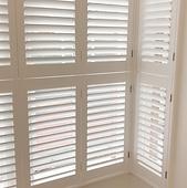 Bay window fitted shutters Tonbridge