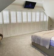 large bedroom window shutters Tunbridge Wells