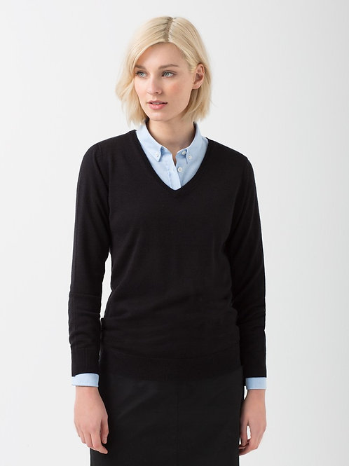 Ladies' V-Neck Knit