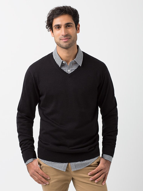 Gents' V-Neck Knit