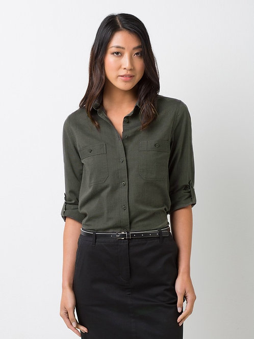 Ladies' Rex Utility Long Sleeve Shirt