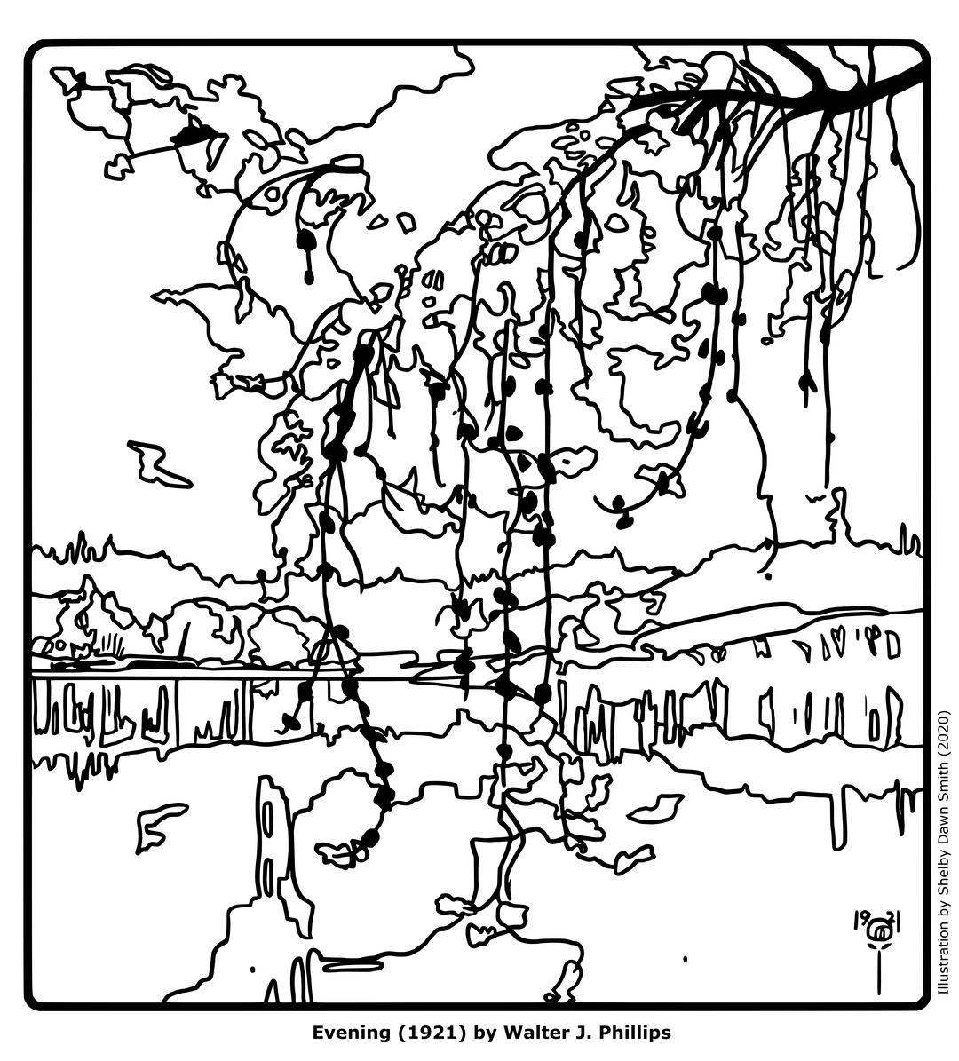 Evening (1921)
