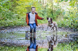 Kids and Dogs Photography