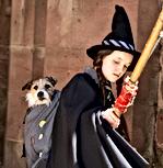 BBC Worst Witch, featuring Mr BoJangles