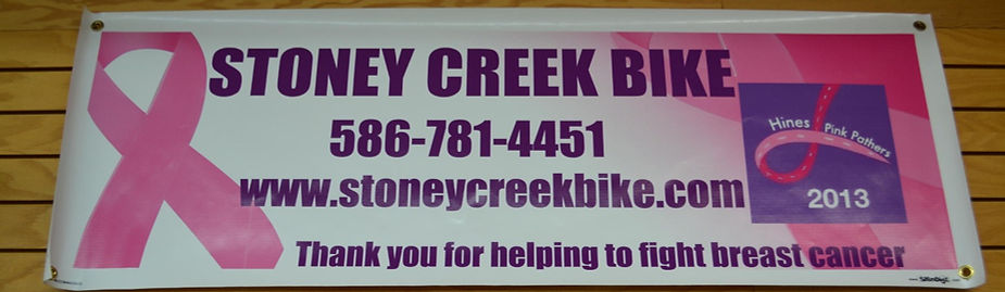 Fund raising for breast cancer, supporting our community, Hybrid bikes, Comfort Bikes