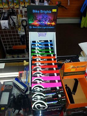 Products and Services Bicycles Mountain Bikes Comfort Bikes BMX Bikes Hybrid Bikes Children's Bikes Bicycle Parts and Accessories Cycle Clothing, Shoes and Accessories Helmets Child Trailers Auto Racks Sales and Repairs Tri-Wheelers Recumbants Bicycle Repa