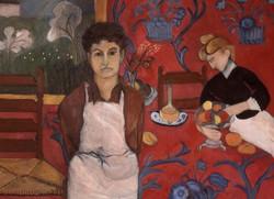 Self Portrait w Matisse