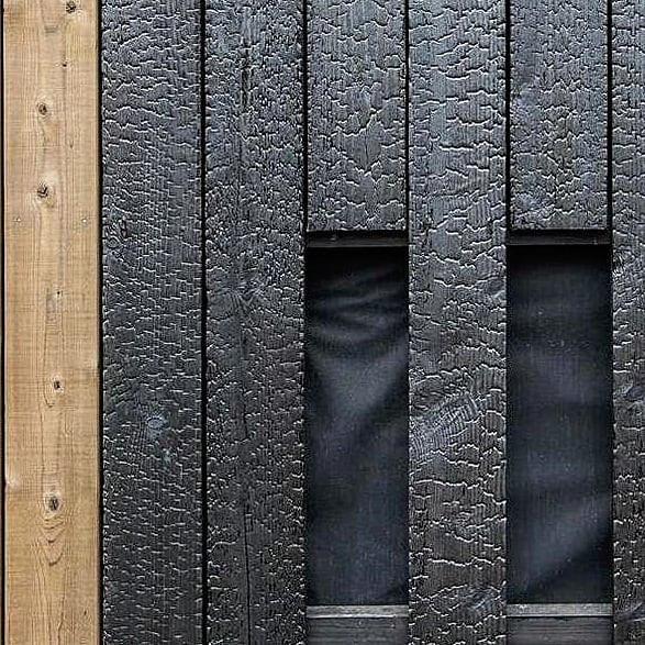 Charred Japanese Timber New Zealand