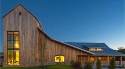 redwood barn house