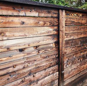 Unstained Charred Japanese Timber New Zealand Yakisugi