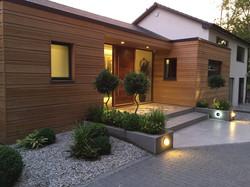 Redwood Re-clad home
