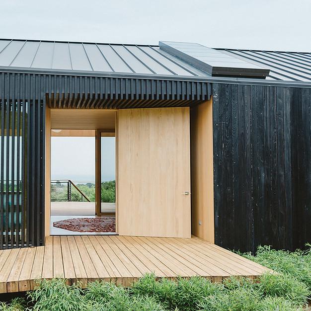 Charred Japanese Timber New Zealand Yakisugi