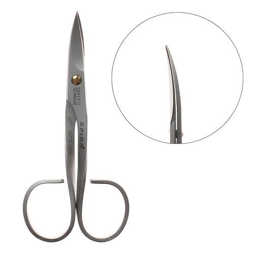 Ножницы для ногтей фигурные ручки Nn-832m