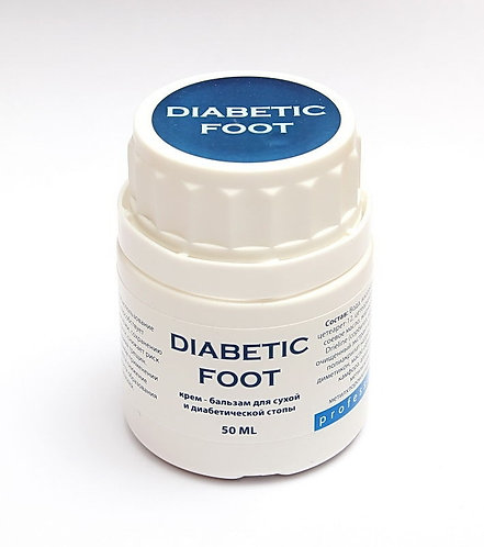 Крем - бальзам для диабетической стопы