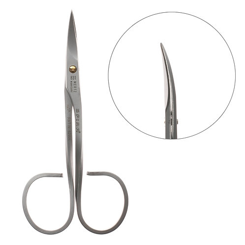 Ножницы для ногтей  фигурные ручки Nn-831m