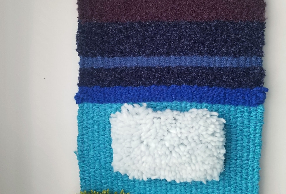 WOVEN textile art/