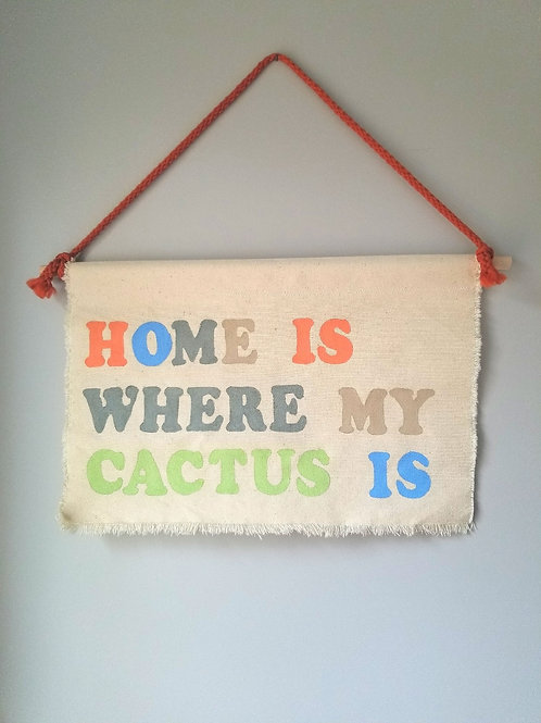 CACTUS banner/
