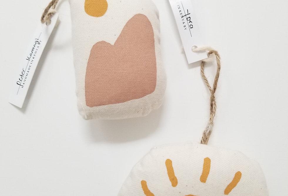 DESERT SUN plushie (set of 2)