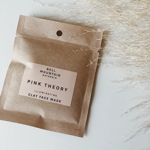 PINK THEORY clay mask/