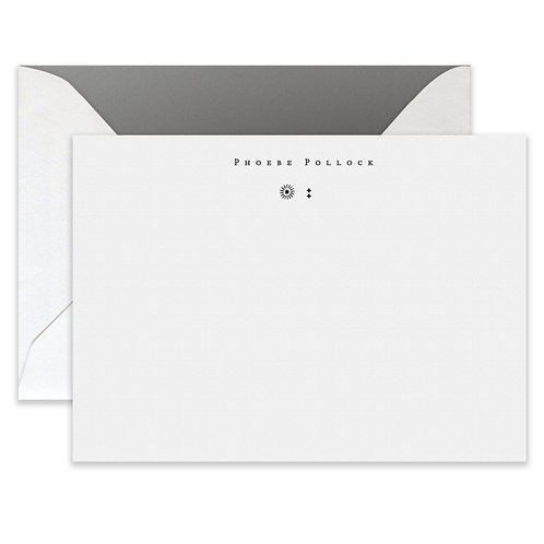 Letterpress Toteme Card