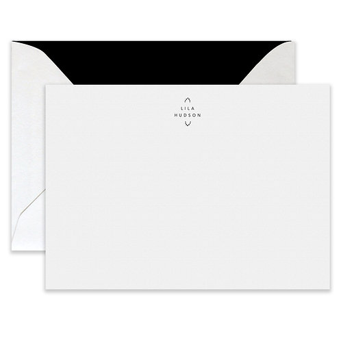 Letterpress Barrow Card