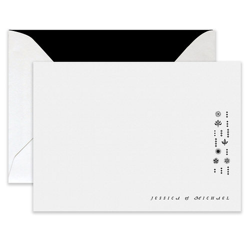 Letterpress Cleo Card