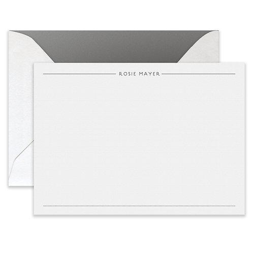 Letterpress Draper Card