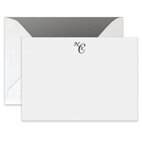 Flat Printed Bleecker Card