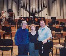 with Richard Stoltzman and Kirk Trevor